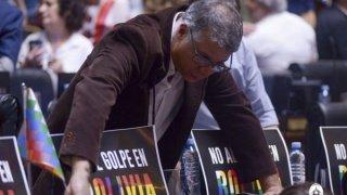La clase política debatió sobre Bolivia