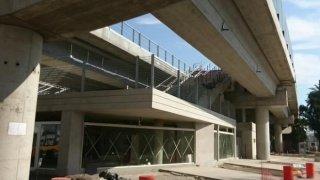 Viaducto San Martín: obra parada por estafa