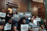 Represión en el subte: pedido de informes