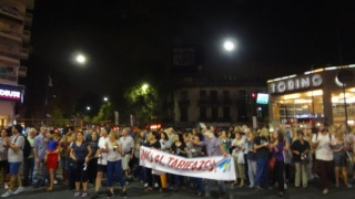 Vecinos protestaron por el aumento de tarifas